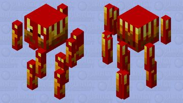 Blood Blaze ( From The Boiling Blood Union) Minecraft Mob Skin