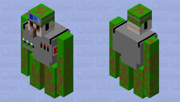 militar Minecraft Mob Skin
