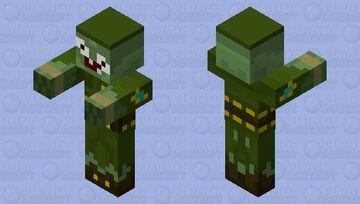 Zombie Soldier PvZ Minecraft Mob Skin