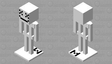 Marshmello armor stand ( Marshmello mob skin pack ) Minecraft Mob Skin