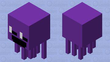 Purple guy Minecraft Mob Skin