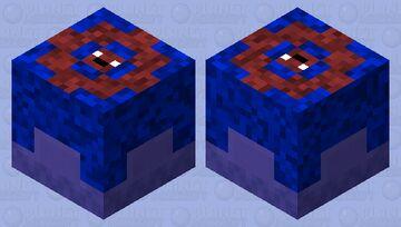 Shulker Gem Blue Minecraft Mob Skin
