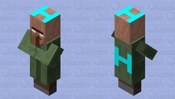 Herobrine's Servants Minecraft Mob Skin