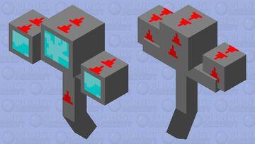 Brutal Turret Boss Minecraft Mob Skin