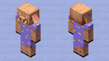 Good night piglin! Minecraft Mob Skin