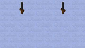 floating knife Minecraft Mob Skin