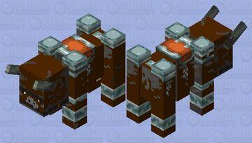 The Buffffffffffffff Cowwwwwwwww Minecraft Mob Skin