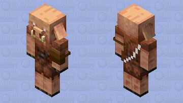 Netherite piglin Minecraft Mob Skin