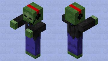 Gamer Zombie by Joe Minecraft Mob Skin