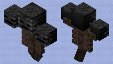 An actual Wither Minecraft Mob Skin