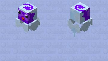 Castform (Snowy) Minecraft Mob Skin