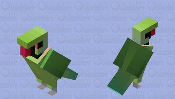 Ringneck (Psittacula krameri) Minecraft Mob Skin