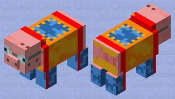 swimming suit pig Minecraft Mob Skin