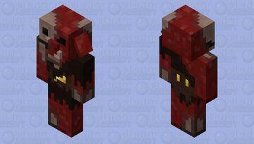 Rotten Piglin (𝕱𝖔𝖗𝖇𝖎𝖉𝖉𝖊𝖓 𝕾𝖔𝖚𝖑𝖘) Minecraft Mob Skin