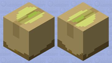 A Damaged Shipment of Pistachios Minecraft Mob Skin