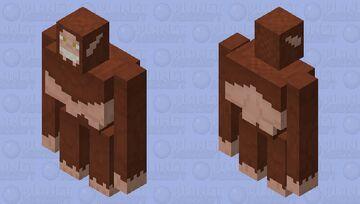 Attack On Titan - Beast Titan (Zeke Jaeger) Minecraft Mob Skin