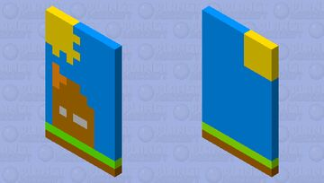 House cap (for sundown palette contest) Minecraft Mob Skin