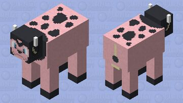 Miltank - Pokemon Cow Replacer Minecraft Mob Skin