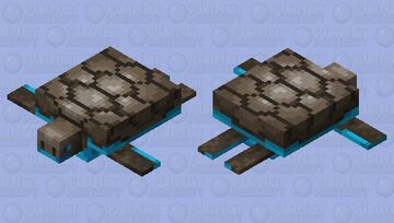 Soulsand Crawler Minecraft Mob Skin