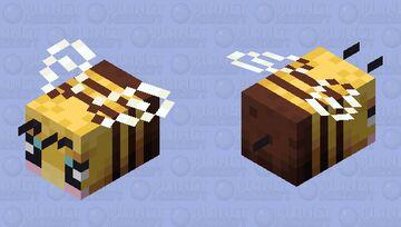 Baby Bee Minecraft Mob Skin