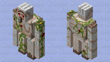 Dlerpy the golem Minecraft Mob Skin