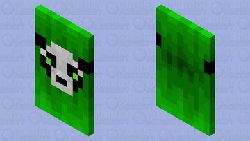 Pandah cape Minecraft Mob Skin