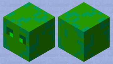 nature cube (naturalna kostka) xDDD Minecraft Mob Skin