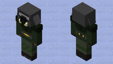 Piglin Brute Soldier Minecraft Mob Skin