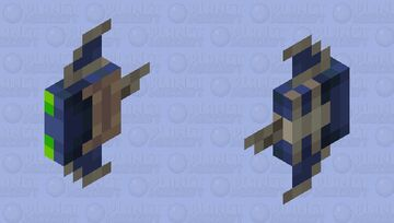 Baby Phantom Minecraft Mob Skin