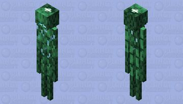 Wavewhisperer Minecraft Dungeons Hidden Depths Minecraft Mob Skin