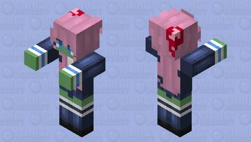 Zombie LDShadowLady Minecraft Mob Skin