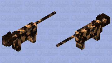 frankie the kitty cat Minecraft Mob Skin