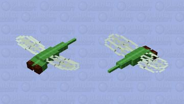 Large Dragonfly Minecraft Mob Skin