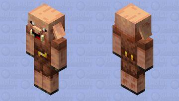 piglin derp Minecraft Mob Skin