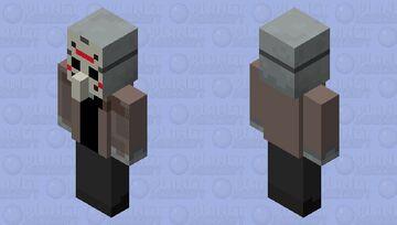 Vindicator Voorhees  (Minecraft The 13th) Minecraft Mob Skin