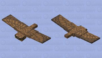 Bewitchedx32 - Phantom (Great Horned Owl) Minecraft Mob Skin