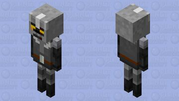 withed knight  (for cave only world) Minecraft Mob Skin