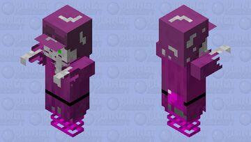 skeleton Floater Minecraft Mob Skin