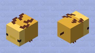 The flying axolotl Minecraft Mob Skin