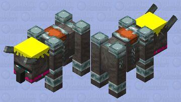 Lil' Ravager Minecraft Mob Skin
