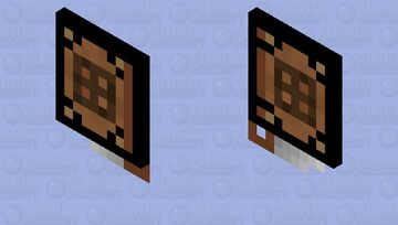 2x2 Mini Crafting Table Cape by Blade_51 Minecraft Mob Skin