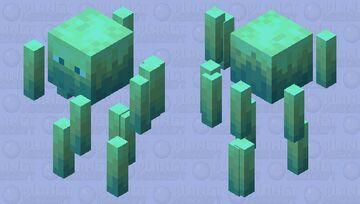 Crystalilized Blaze Minecraft Mob Skin