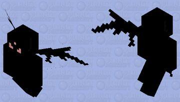 Cartoon Shin Demon (insane) Minecraft Mob Skin