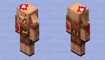 Wounded Piglin Minecraft Mob Skin