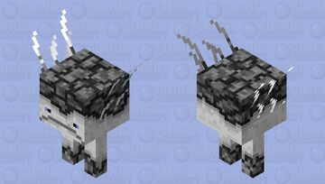 Quartz Strider Minecraft Mob Skin