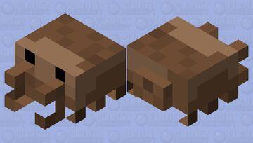 brown crab Minecraft Mob Skin