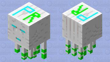 paolocrack1254 ghast Minecraft Mob Skin
