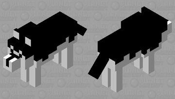 Husky-Kun Minecraft Mob Skin