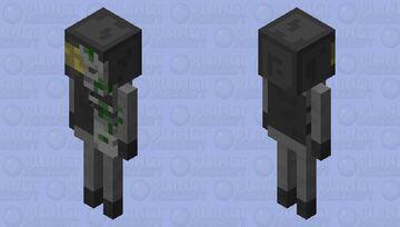 Undead FBM SWAT Minecraft Mob Skin