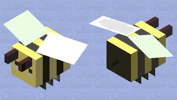 AnchoredBee Minecraft Mob Skin